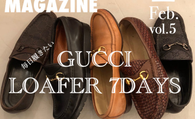 GUCCI/LOAFER 7DAYS